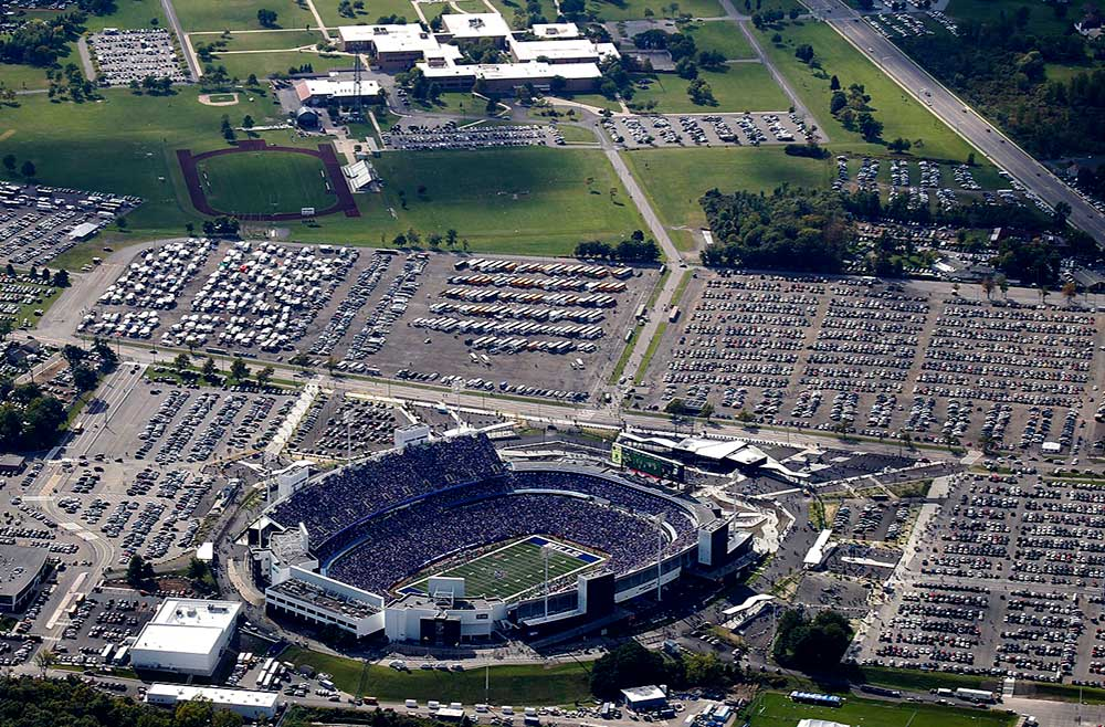 Ralph Wilson Stadium Parking Lot